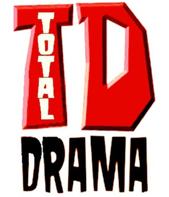 Total Drama - The main Total Drama series logo
