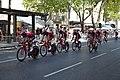 Tour d'Espagne - stage 1 - reconnaissance parcours Katusha.jpg