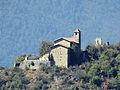 Tournefort (Alpes-Maritimes) - Eglise du vieux village et ruines.JPG