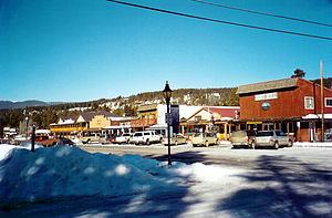 Grand Lake, Colorado - Grand Lake village in winter
