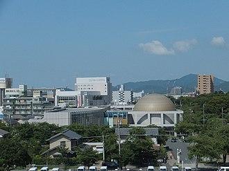 Toyokawa, Aichi - Image: Toyokawa City Library (2012.08.17) 2