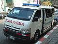 Toyota Hiace ambulance face Chiangmai.jpg