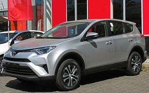 Toyota RAV4 - Toyota RAV4 (Chile; facelift)