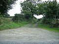 Track to the fields, near Little Newcastle - geograph.org.uk - 2594569.jpg