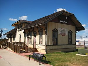 Kyle, Texas - Historic Kyle Train Depot