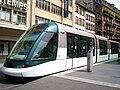 TramStrasbourg lineB HommeFer 2versHoenheim.JPG
