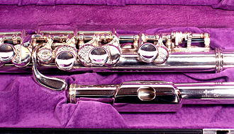 Members of the western concert flute family - The Myall-Allen G Treble Flute.