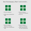 Tremaux' Methode - Schaubild Verzweigungssituationen.png
