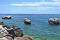 Tres roques vistes des del passeig ecològic, Calp.JPG
