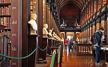 Bibliothek Des Trinity College Wikipedia