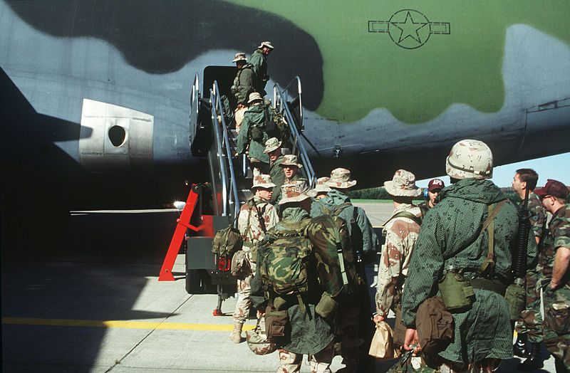 https://upload.wikimedia.org/wikipedia/commons/thumb/a/a3/Troops_climb_aboard_a_C-5_aircraft_in_preparation_for_deployment_to_Mogadishu%2C_Somalia_DF-ST-97-00890.jpg/800px-Troops_climb_aboard_a_C-5_aircraft_in_preparation_for_deployment_to_Mogadishu%2C_Somalia_DF-ST-97-00890.jpg