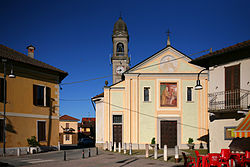 The parish dedicated to San Biagio