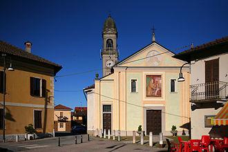 Trovo - The parish church dedicated to San Biagio
