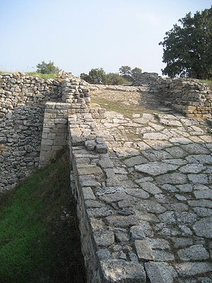 Troy II, Entrance Ramp