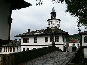 Tryavna - Typical architecture of Tryavna.