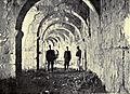 Turks in The Corridor at Aspendus. Accidents of an antiquary's life. 1910.jpg