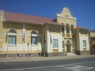 SADC Tribunal - Windhoek's historic Turnhalle building, seat of the SADC Tribunal