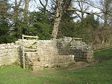 Remains of Brunton Turret