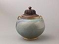 Two-eared jar, Jun ware MET SLP1663-3.jpg