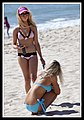 Two Girls on beach at Surfers Paradise-3 (6207135400).jpg