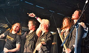 Tygers of Pan Tang - Image: Tygers of Pan Tang – Headbangers Open Air 2014 04