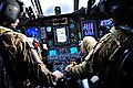 U.S. Army MH-47G Chinook helicopter pilots perform preflight operations during Emerald Warrior 2013 at Hurlburt Field, Fla., April 29, 2013 130429-F-MN146-197.jpg
