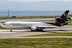 UPS MD-11F taxiing for R-W24L. (9390346027).jpg
