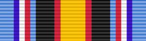 Secretary of Defense Medal for the Global War on Terrorism - Image: USA Global War on Terrorism Civilian Service Medal ribbon