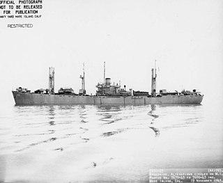 USS <i>Allioth</i> Crater-class cargo ship