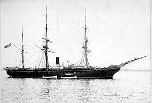 USS Essex (1874) - Image: USS Essex (1876)