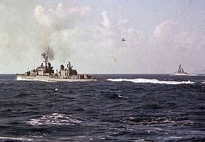 USS Hawkins (DD-873) with DASH drone c1965.JPG