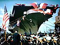 USS Midway (CVB-41) prepared for christening.jpg