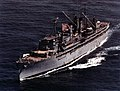 USS Prairie (AD-15) underway at sea in 1992.jpg