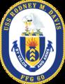 USS Rodney M. Davis FFG-60 Crest.png