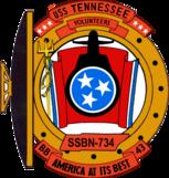 USS Tennessee SSBN 734 COA
