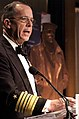 US Navy 061025-N-0696M-149 Chief of Naval Operations (CNO) Adm. Mike Mullen gives his closing remarks at the 2006 Lone Sailor Awards Dinner at the Grand Hyatt Hotel.jpg