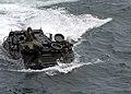 US Navy 070404-N-4954I-060 U.S. marines assigned to the 3rd Amphibious Assault Battalion (3rd AAB), prepare to enter the well deck of the amphibious assault ship USS Peleliu (LHA 5).jpg