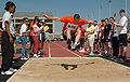 US Navy 070422-N-5215E-003 A Special Olympics athlete participates in the long jump at the Naval Academy.jpg