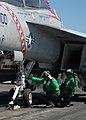 US Navy 080823-N-1038M-082 Aviation Boatswain's Mates (Equipment) give a.jpg