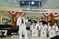 US Navy 090728-N-2978F-001 The Pacific Fleet Band performs in the Agana Shopping Center in Agana during the band's tour of Guam.jpg