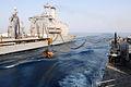 US Navy 110817-N-QL471-392 Pallets of stores are transferred from the Military Sealift Command fleet replenishment oiler USNS Laramie (T-AO 203), l.jpg