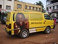 Uganda - ad on van in Kampala.jpg