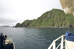 Ulak Island - Image: Ulak Island Delarof Islands