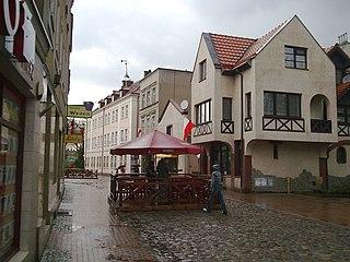 Tuchola Place in Kuyavian-Pomeranian Voivodeship, Poland