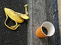 Unbinned litter at Sainsbury's, Chingford, London, England 1.jpg