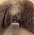 Underwood & Underwood © 1897 No. 73 - Bower of St. Anthony, Vatican Gardens, Rome, Italy (detail).jpg