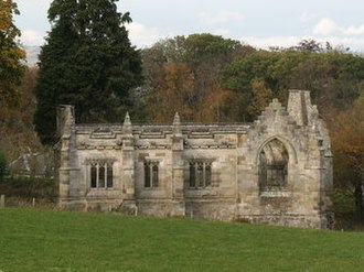 Lord Ninian Crichton-Stuart - Unfinished chapel at Falkland, Fife, that is also a memorial to Crichton-Stuart