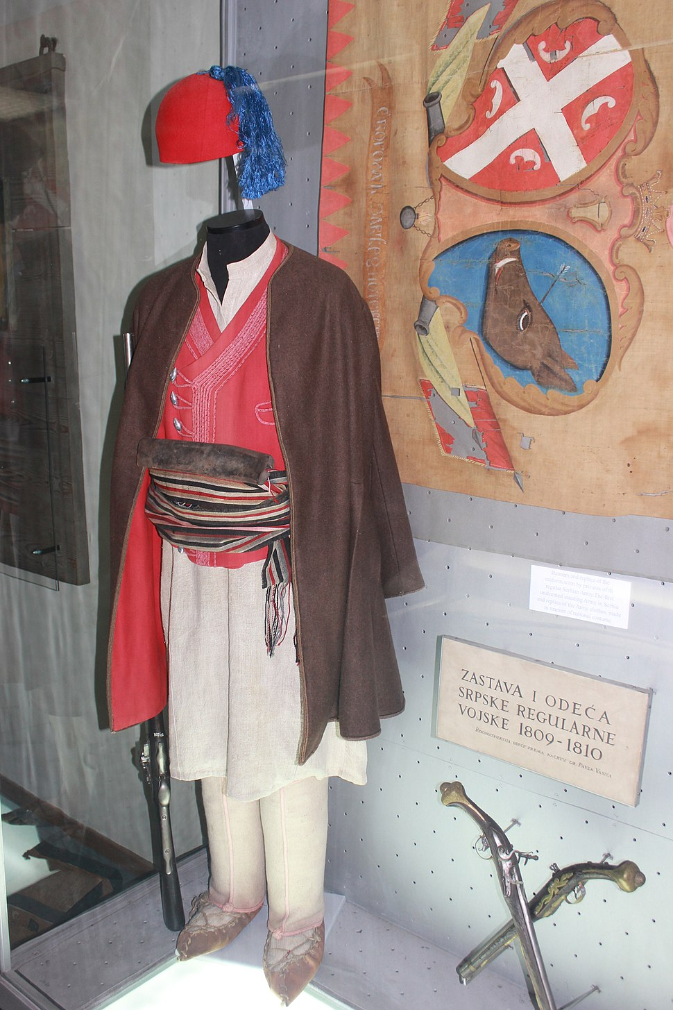 Uniforme of Serbian rebel army 1809