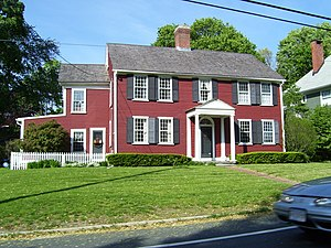 Union Village, Rhode Island - Image: Union Village House RI
