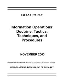 United States Army Field Manual 3-13 Information Operations.djvu